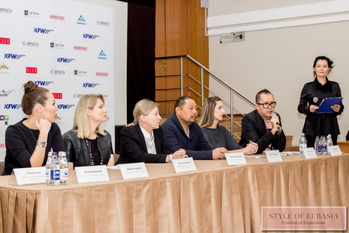 The press conference dedicated to Kazakhstan Fashion Week SS 2016