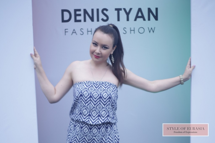 The presentation of women's clothing line by Denis Tyan