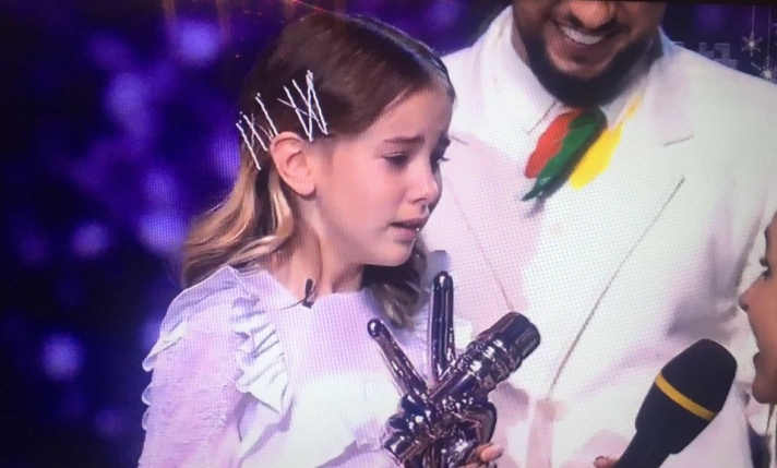 NEWS: Daneliya Tuleshova became the winner of «The voice. Kids» in Ukraine