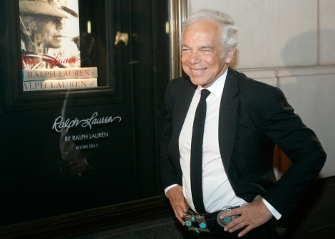 NEWS: 76 year old Ralph Lauren leaves the post of the head of his corporation
