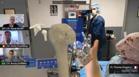 Surgery and mixed reality is a new stage in the development of medical innovation