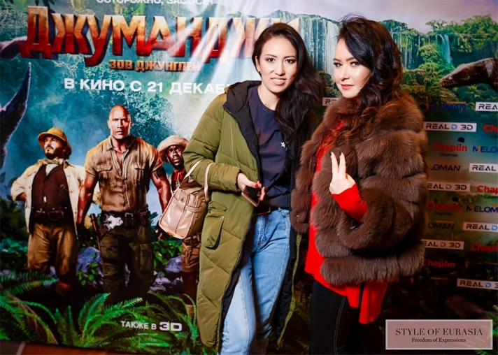 The pre-premiere of «Jumanji: Welcome to the Jungle»