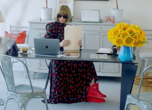 NEWS: Sneakers for Nike created Anna Wintour in person