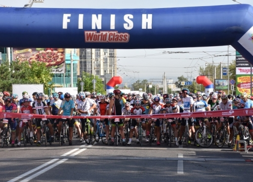 NEWS: Sports weekend - over 700 cyclists spent Saturday on the roads of the city