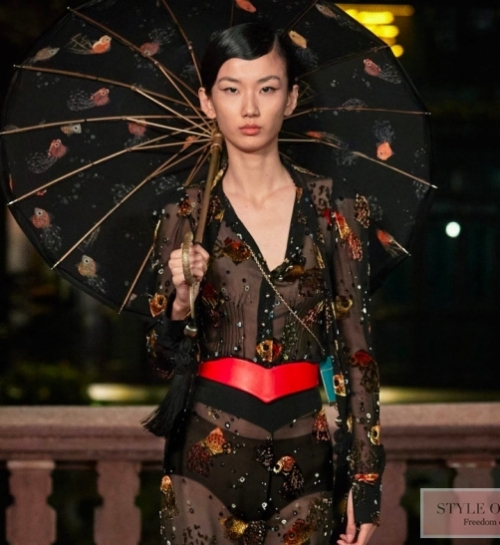 Lanvin SS 2021 collection presented at Shanghai Fashion Week
