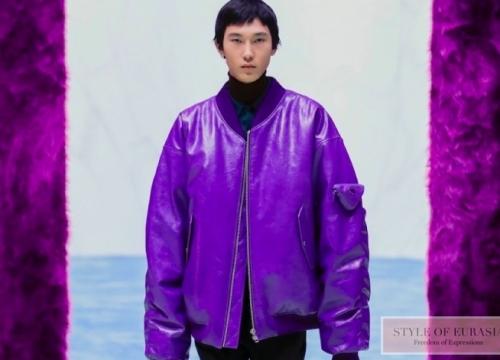 Prada fall winter 2021 menswear: when Miuccia Prada and Raf Simons worked together