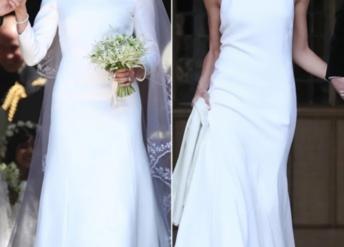 NEWS: Brands of Meghan Markle's wedding dresses