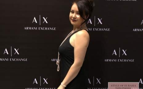 The opening of the store brand Armani Exchange