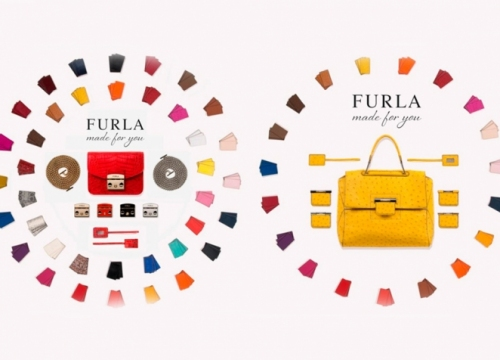 NEWS: Bag by Furla now is possible to collect by oneself