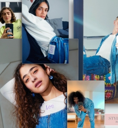 Lee X H&M: the next generation sustainable denim collection
