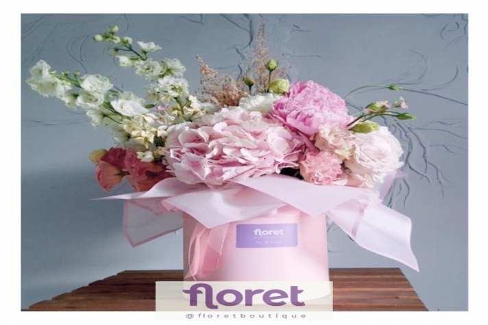Bouquets as an art