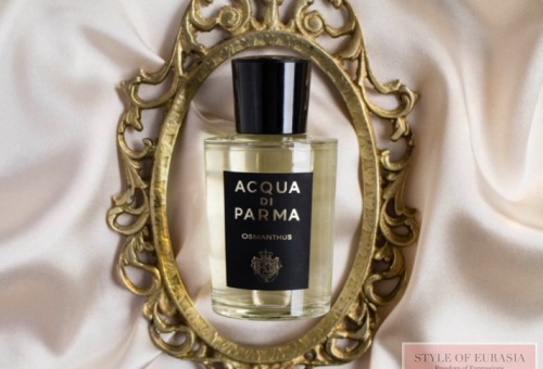 Aqua Di Parma Osmanthus  is the flower of happiness