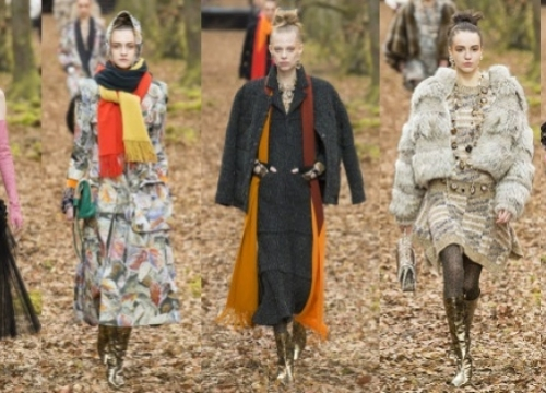 NEWS: The fashion show Chanel collection autumn-winter 2018/19 - immersion in autumn during early spring
