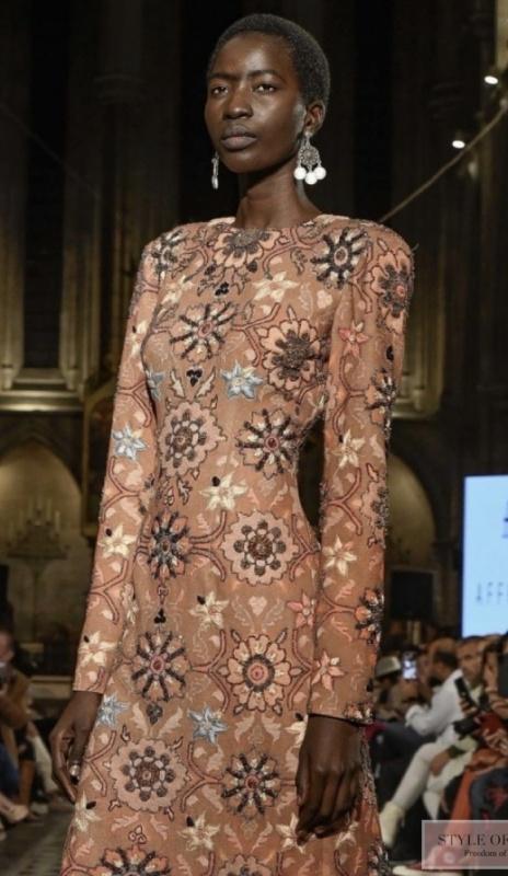 Famous Azerbaijani designer Rufat Ismayil showed his collection at Paris Fashion Week