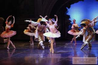 In the Abay Opera House performed the ballet «Sleeping Beauty» with the soloists of the Bolshoi Theater of Russia