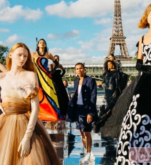 Chanel, Balmain and Giambattista Valli couture fall-winter 2020/21