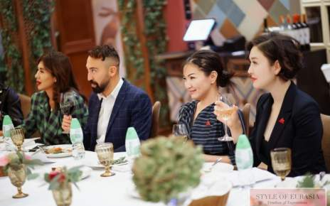 Eurasian Fashion Week Gala Dinner in Nur-Sultan