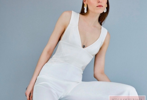 Bridal outfit with trousers offers Galvan London brand