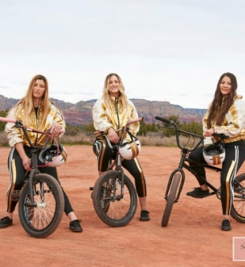 H&M presented the H&M Studio SS19 collection via a scripted immersive theatre experience in Sedona