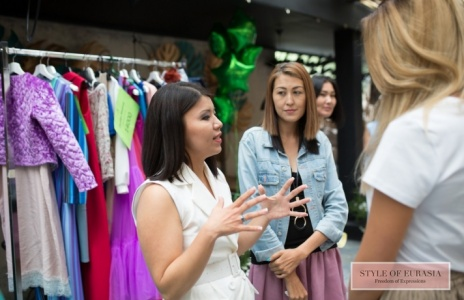 The press breakfast dedicated to the opening night shopping center of Kazakhstani designers Designers city