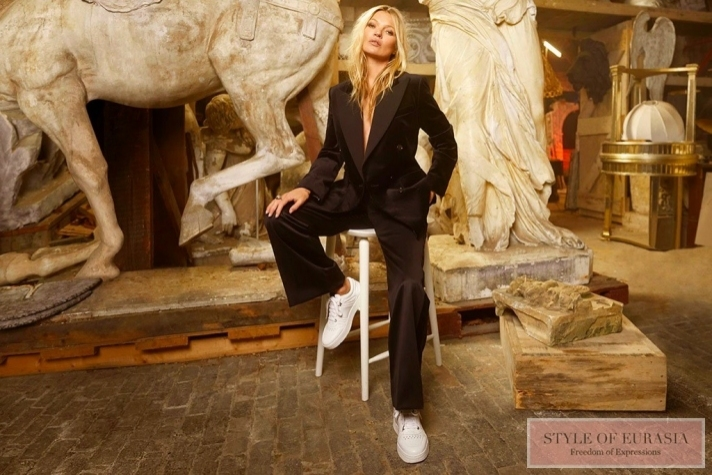 Kate Moss and Jimmy Choo are an incredibly beautiful collaboration